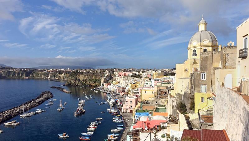 Marina Corricella on the island of Procida, Italy