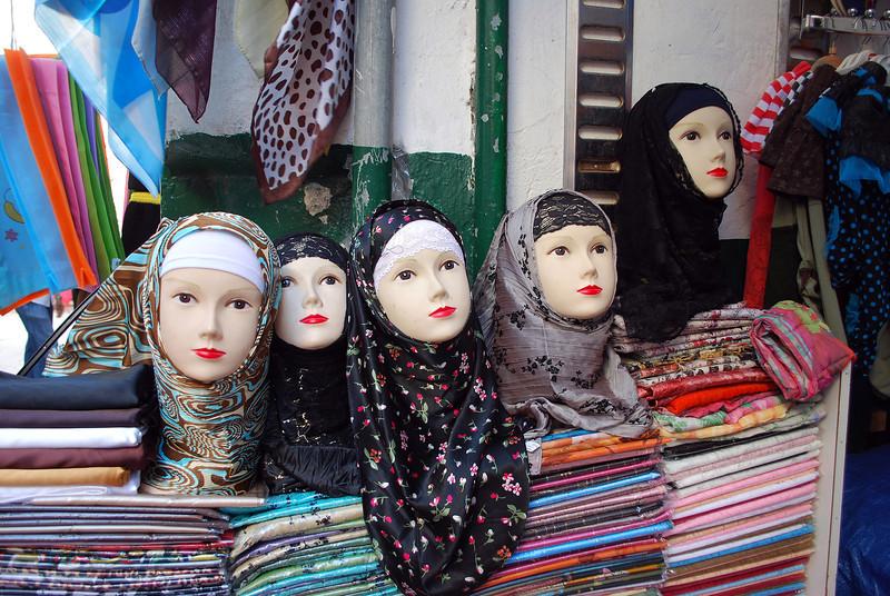 Street market scene in Tripoli, Libya