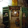 Entrance to merchant shop in the medina of Tripoli, Libya