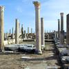 Roman basilica of Apuleius in Sabratha, Libya