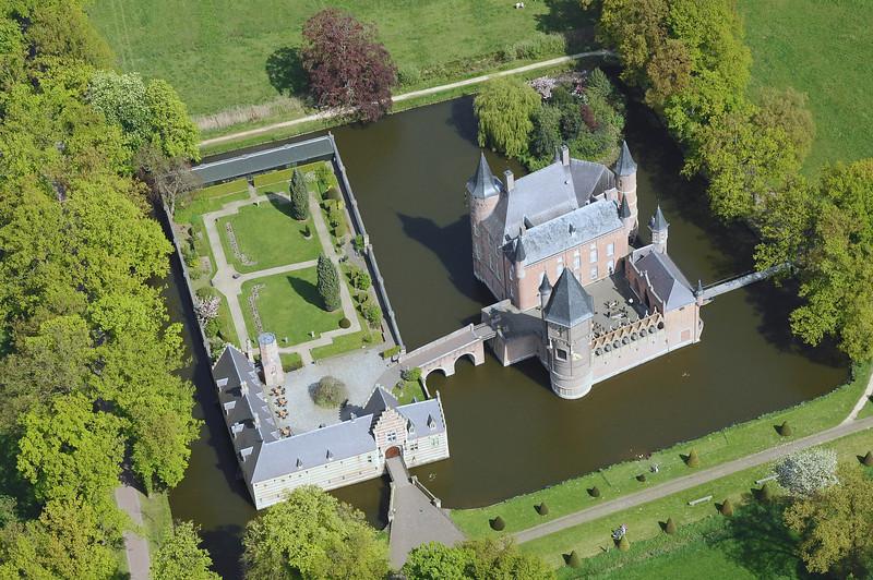 Heeswijk castle in Brabant, The Netherlands