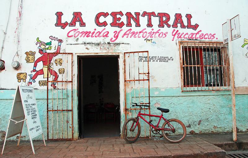 Village restaurant in Yucatan, Mexico