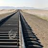 Railroad leading to Aus, southern Namibia