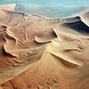 Giant dunes in the Namib desert, Namibia