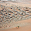 Sand ripples in the Namib desert, Namibia