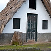Traditional thatched dwelling (palheiro) near Santana in northern Madeira, Portugal