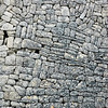 Traditional stone wall in Mallorca, Spain