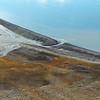 Beach ridge and polygonal permafrost soils at Annahamna in the Van Keulenfjorden, Svalbard