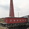 Castiron lighthouse of Andenes in Lofoten, Norway