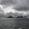 Summer storm over the mountains and glaciers of Sørkapp Land, Svalbard