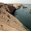 Crumbling ancient city of Dura Europus along the Euphrates river in southern Syria
