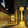 Evening at the Umayyad Mosque in Damascus, Syria