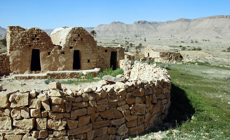 Small granary in southern Tunisia