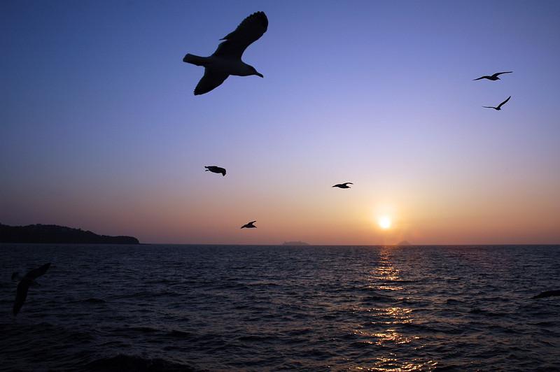Sunset near the Princess Islands, Turkey