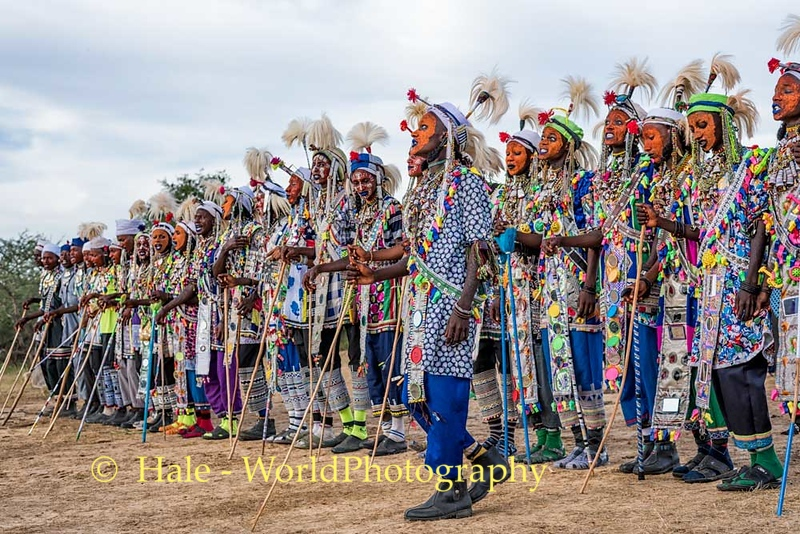 Wodaabe Beauty Competition