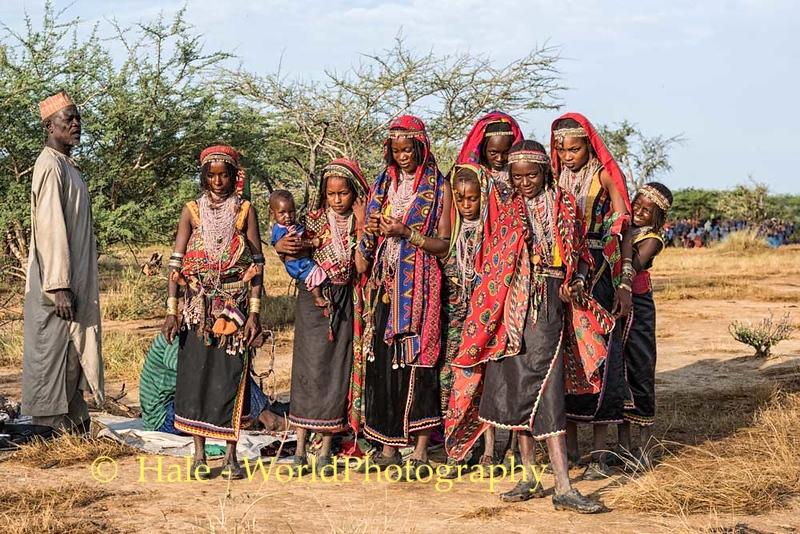 Young Wodaabe Women