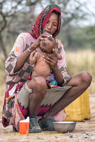 Wodaabe Mother and Baby