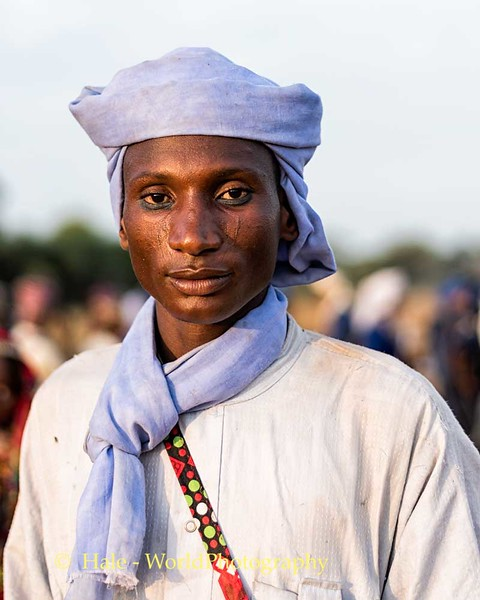 Young Man at Gerewol Festival