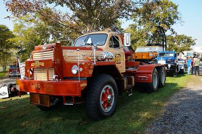 Gerhart's Mack  Truck Show