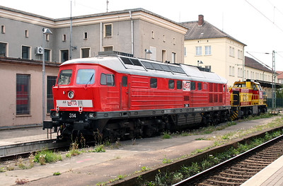 MEG, 314 (uic 92 80 1 232 239-4 D-MEG) Dessau Hbf 270409 (1)