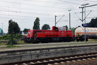 261 055 (92 80 1261 055-8 D-DB) at Itzehoe on 3rd August 2017 (2)