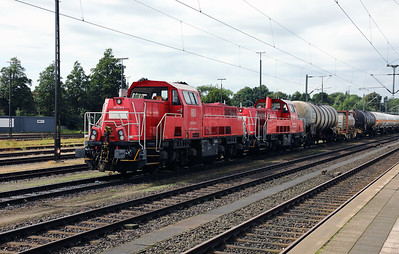 261 036 (92 80 1261 036-8 D-DB) at Itzehoe on 3rd August 2017 (1)