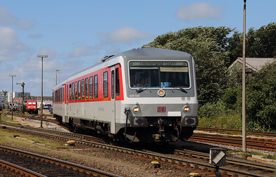 628 540 (95 80 0628 540-6 D-DB) at Westerland (Sylt) on 6th August 2017 (2)