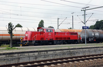 261 092 (92 80 1261 092-1 D-DB) at Itzehoe on 3rd August 2017