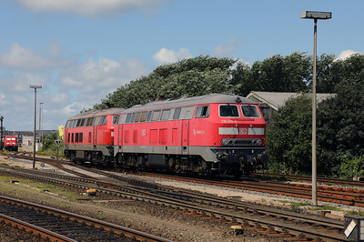 218 470 (92 80 1218 470-3 D-DB) at Westerland (Sylt) on 6th August 2017 (6)