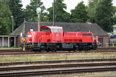 261 092 (92 80 1261 092-1 D-DB) at Itzehoe on 3rd August 2017 (2)