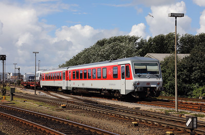 628 521 (95 80 0628 521-6 D-DB) at Westerland (Sylt) on 6th August 2017 (1)
