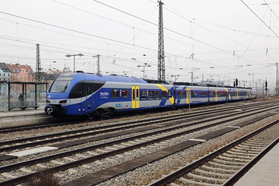 Meridian, ET316 (94 80 1430 516-3 D-BOBY) at Munich Ost on 10th February 2017