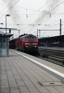 218 419 (92 80 1218 419-0 D-DB) at Munich Ost on 10th February 2017 (3)