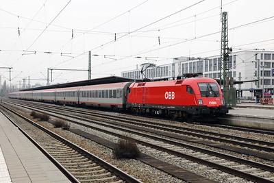 OBB, 1116 104 (91 81 1116 104-1 A-OBB) at Munich Ost on 10th February 2017 (2)