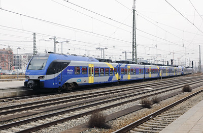 Meridian, ET302 (94 80 1430 502-3 D-BOBY) at Munich Ost on 10th February 2017 (2)