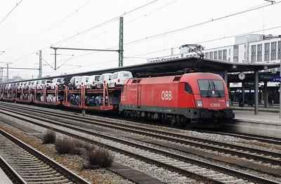 OBB, 1116 260 (91 81 1116 260-1 A-OBB) at Munich Ost on 10th February 2017 (2)