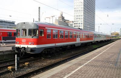 624 616 at Dortmund Hbf on 18th April 200