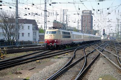 1) 103 113 at Koln Hbf on 12th April 2004