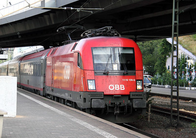 OBB, 1116 156 at Frankfurt (main) West on 6th August 2010 (1)