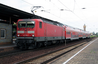 143 816 at Merseburg on 8th August 2010 (1)