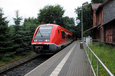 641 036 at Kranichfeld on 6th August 2010 (2)