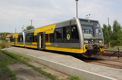 672 904 at Vitzenburg on 7th August 2010
