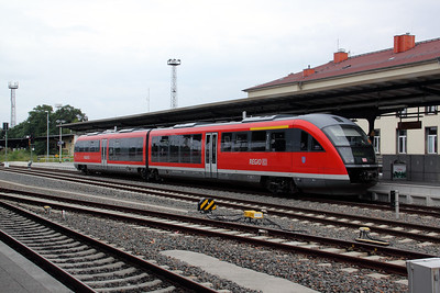 642 502 at Gera Hbf on 7th August 2010