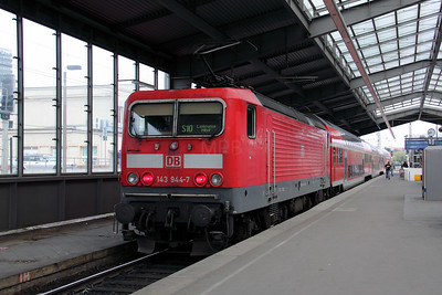 143 944 at Halle (Saale) HBf on 8th August 2010
