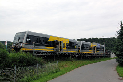 672 909 at Wangen (Unstrut) on 7th August 2010