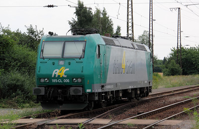 R4C or VCD, 185 CL 006 (91 80 6185 506-3 D-VCD) at Grosskorbetha on 8th August 2010 (1)