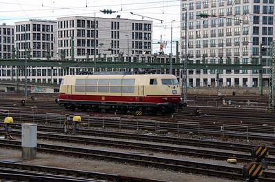 1) 103 245 (91 80 6103 245-7 D-DB) at Munich Hackerbrucke on 9th February 2014