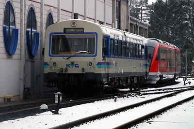 KVG, VT82 at Schollkrippen on 20th February 2005