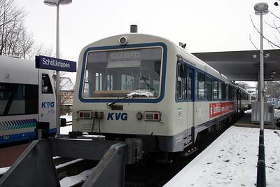 KVG, VT80 at Schollkrippen on 20th February 2005