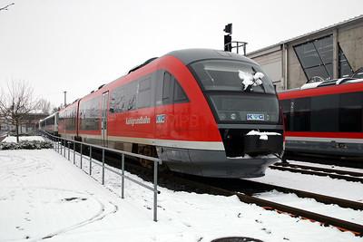KVG, VT2003 (642 153) at Schollkrippen on 20th February 200